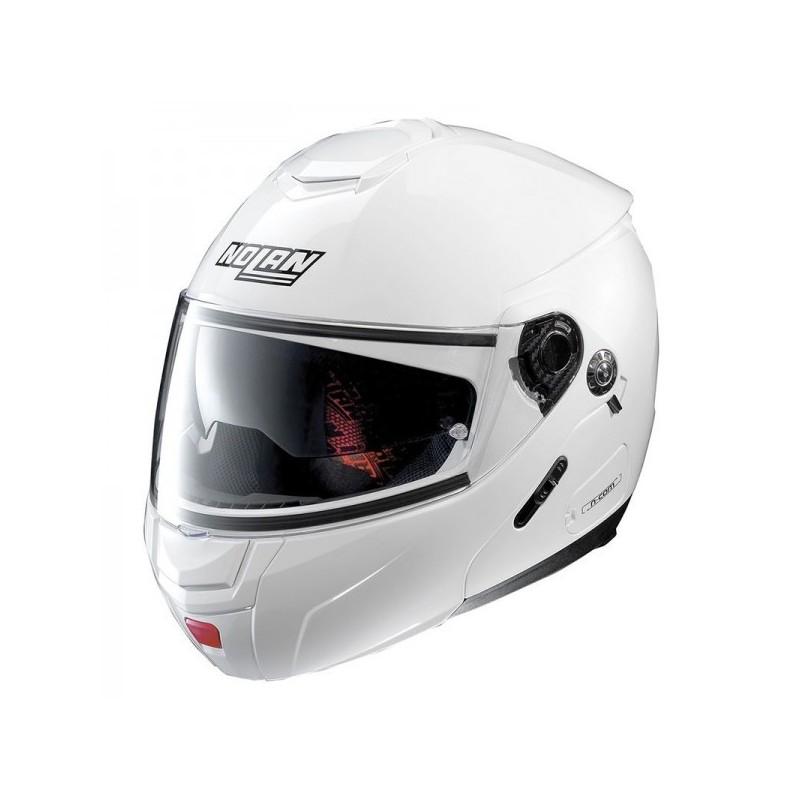 ΚΡΑΝΟΣ NOLAN N90-2 CLASSIC N-COM METAL WHITE (5)