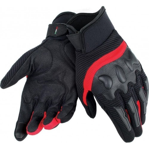 ΓΑΝΤΙΑ DAINESE AIR FRAME UNISEX GLOVES ( black/red )