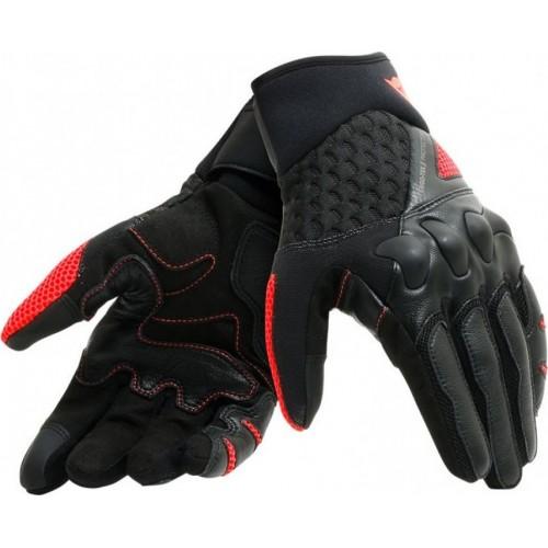 ΓΑΝΤΙΑ DAINESE X MOTO UNISEX GLOVES ( black/Fluo-red)