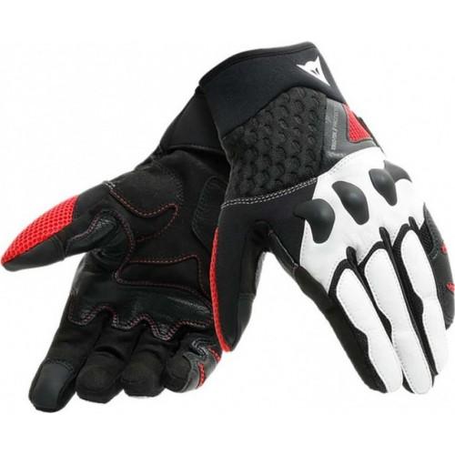 ΓΑΝΤΙΑ DAINESE X MOTO UNISEX GLOVES ( black/white/lava-red)