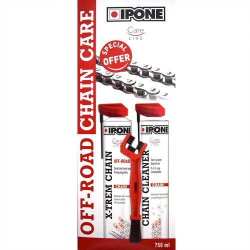 IPONE ΣΕΤ ΠΡΟΙΌΝΤΩΝ ΑΛΥΣΙΔΑΣ OFF-ROAD CHAIN CARE