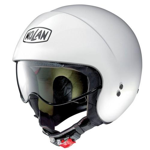 ΚΡΑΝΟΣ NOLAN N100-5 PLUS DISTINCTIVE N-COM METAL WHITE (22)