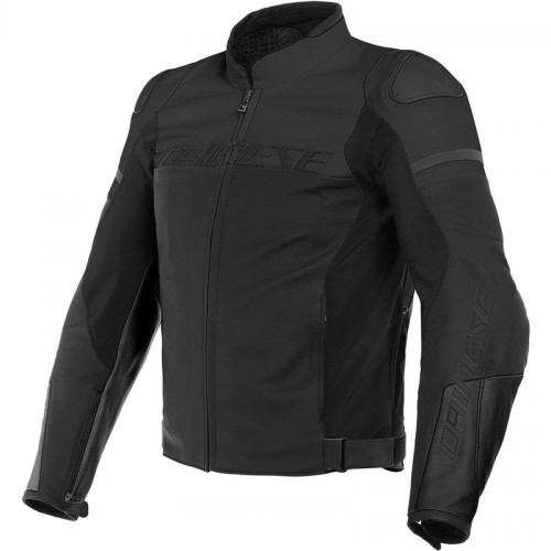 ΜΠΟΥΦΑΝ DAINESE AGILE LEATHER JACKET (Black-Matt/Black-Matt/Black-Matt)