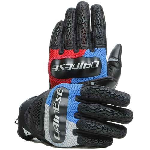 ΓΑΝΤΙΑ  DAINESE  D-EXPLORER 2 GLOVES (Glacier-Gray/Blue/Lava-Red/Black)