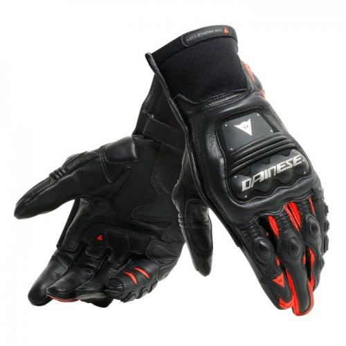 ΓΑΝΤΙΑ  DAINESE STEEL-PRO IN GLOVES (Black/Fluo-Red)