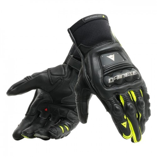 ΓΑΝΤΙΑ  DAINESE STEEL-PRO IN GLOVES (Black/Fluo-Yellow)