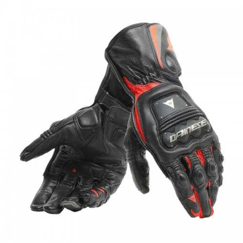 ΓΑΝΤΙΑ  DAINESE STEEL-PRO GLOVES (Black/Fluo-Red)