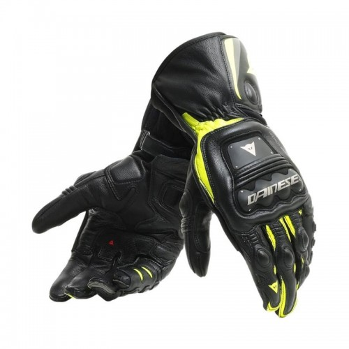 ΓΑΝΤΙΑ  DAINESE STEEL-PRO GLOVES (Black/Fluo-Yellow)