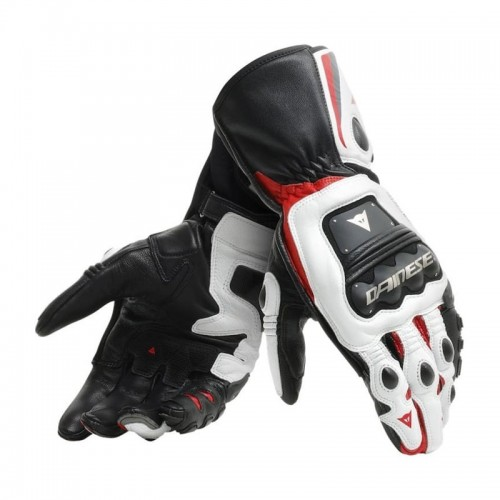 ΓΑΝΤΙΑ  DAINESE STEEL-PRO GLOVES (Black/White/Red)