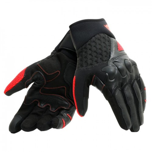 ΓΑΝΤΙΑ  DAINESE X-MOTO UNISEX GLOVES (Black/Fluo-Red)