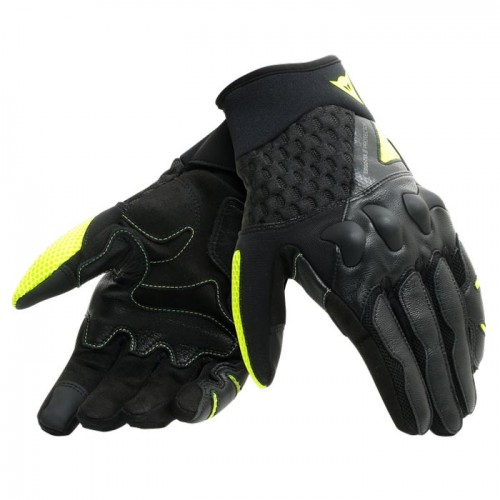ΓΑΝΤΙΑ  DAINESE X-MOTO UNISEX GLOVES (Black/Fluo-Yellow)