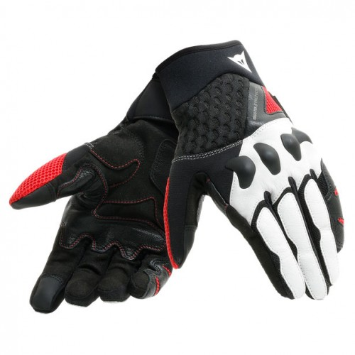 ΓΑΝΤΙΑ  DAINESE X-MOTO UNISEX GLOVES (Black/White/Lava-Red)