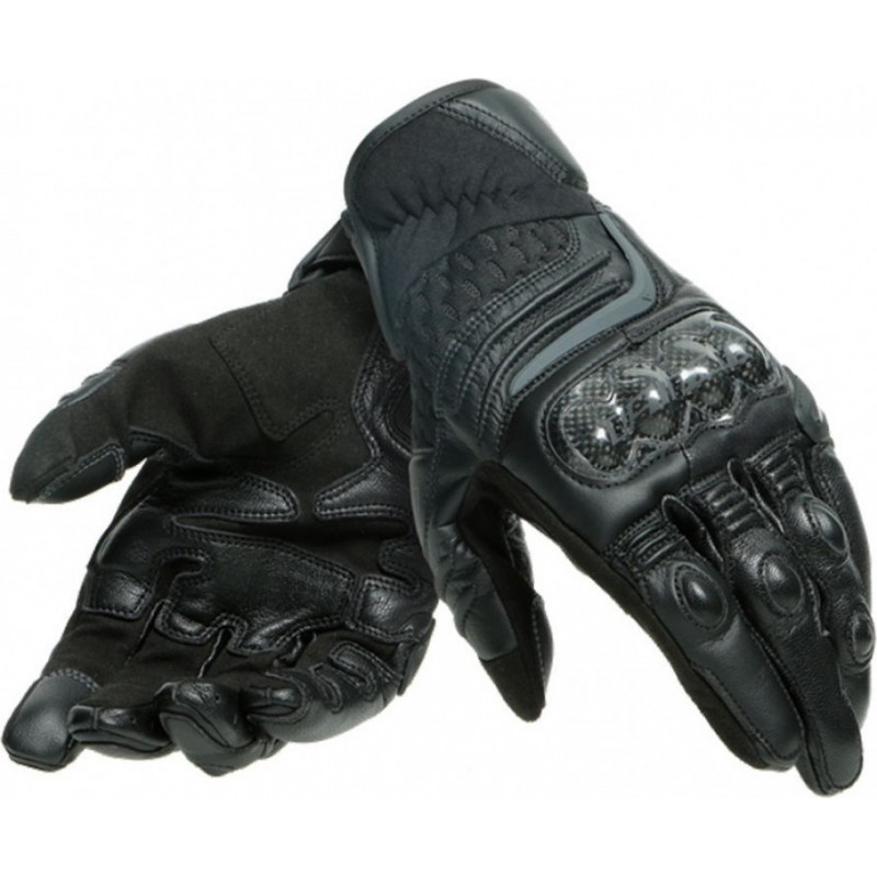 ΓΑΝΤΙΑ DAINESE CARBON 3 SHORT GLOVES (black/black)
