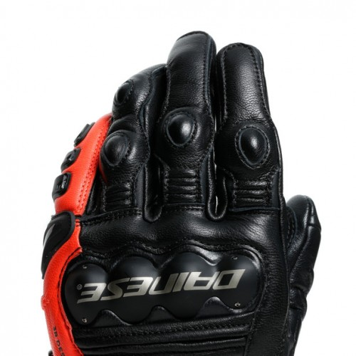 ΓΑΝΤΙΑ DAINESE 4-STROKE 2 GLOVES (Black/Fluo-Red)