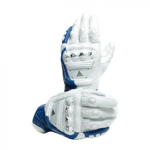ΓΑΝΤΙΑ DAINESE 4-STROKE 2 GLOVES (White/Fluo-Red)