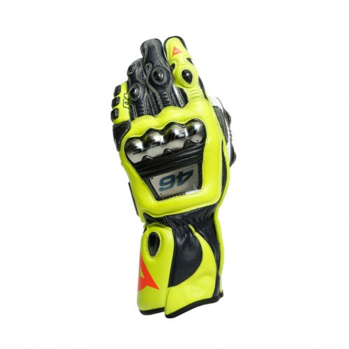 ΓΑΝΤΙΑ DAINESE FULL METAL 6 REPLICA VALENTINO GLOVES (VR46)